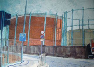 Salford Manchester Gas Holders